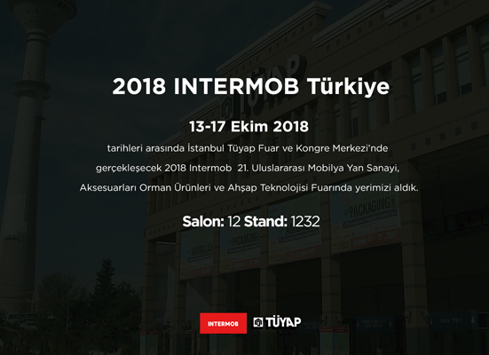 We have taken place in the Intermob TURKEY exhibition